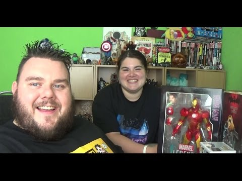 York Unleashed 2016 York Comic-Con Toy Haul  (SuperSorrell)