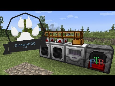 Direwolf20 1.12 | Industrial Foregoing | #2 (Modded Minecraft 1.12.2)