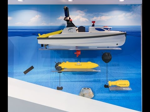 The naval technologies for the future by Thales – Part 3: Mine countermeasures and drones