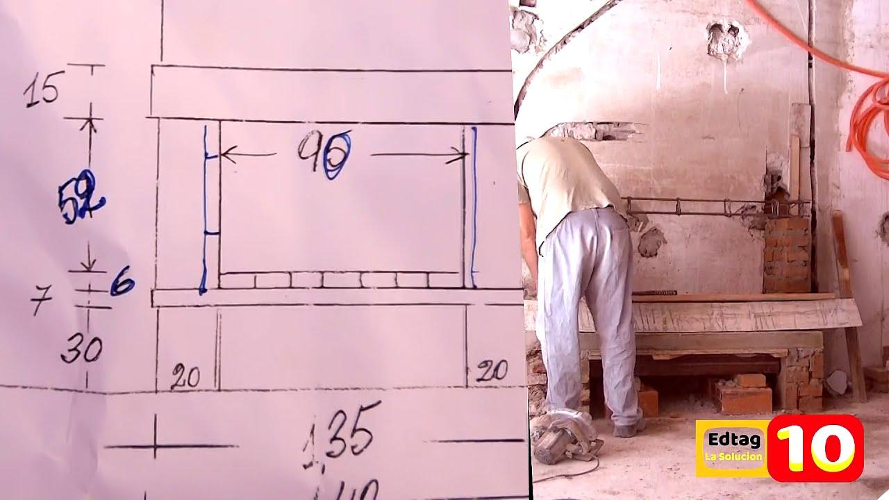 Como hacer una chimenea de ladrillos youtube for Construccion de chimeneas de ladrillo