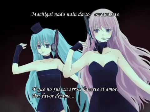 Hatsune Miku & Megurine Luka Magnet  PV sub español + MP3