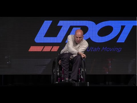 Chad Hymas at UDOT 2015 Annual Conference
