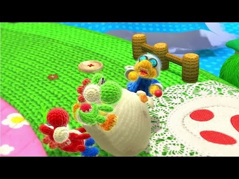 Yoshi's Woolly World - 100% Walkthrough - Parte 01 di 20