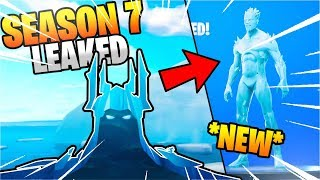 "Fortnite *NEW* Season 7 Leaked ""ICE KNIGHT"" Skin! Season 7 Leaked Skins Concepts & NEW Weapon Skins?"