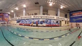 Закрытые соревнования по фридайвингу в Костроме