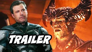 Justice League Trailer - Batman and The Flash vs Steppenwolf Easter Eggs