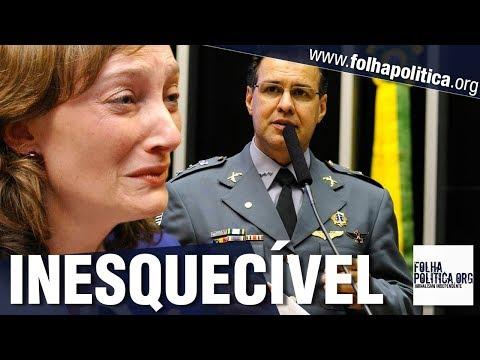 Maria do Rosário recebe lição de moral inesquecível do Capitão Augusto após depreciar Bolsonaro