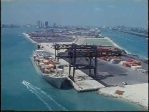 Port of Miami | Miami | Florida | Docks | Crime Inc | 1984