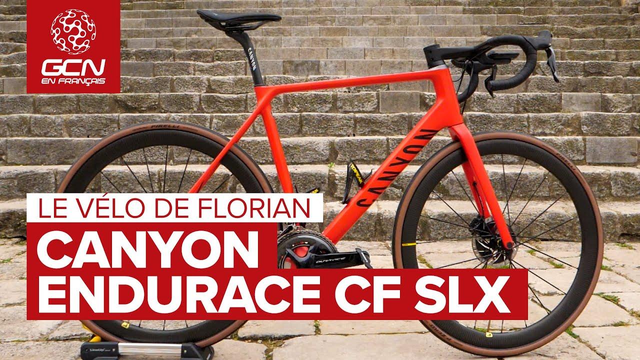 Download Le vélo de Florian : Le Canyon Endurace CF SLX | Les vélos des présentateurs