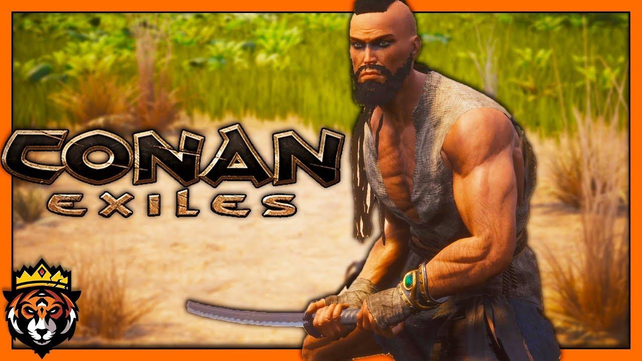 The Iron KATANA is AWESOME! (Conan Exiles Gameplay) #5
