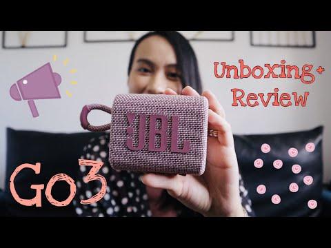 JBL GO3 Unboxing
