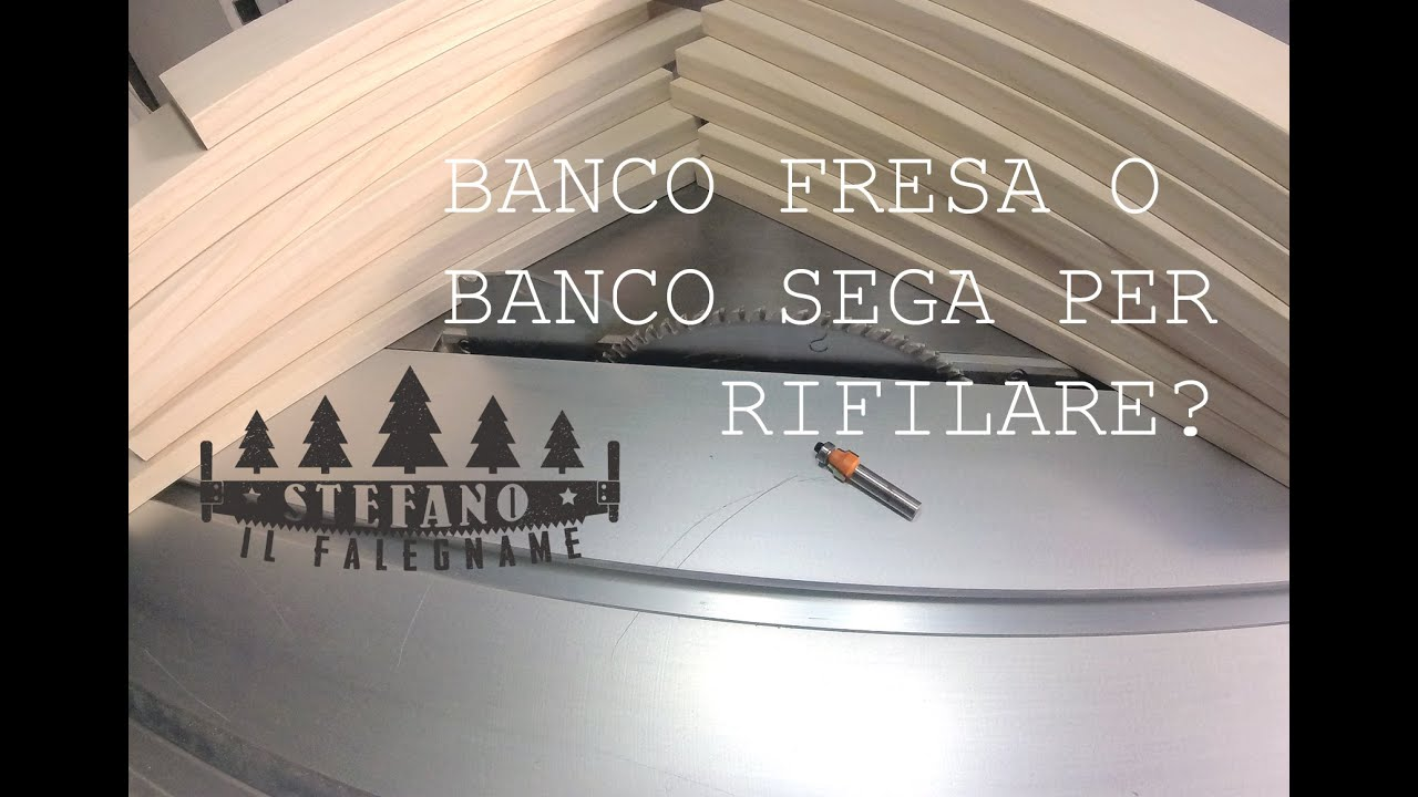 Banco fresa o banco sega per rifilare youtube for Banco fresa kreg