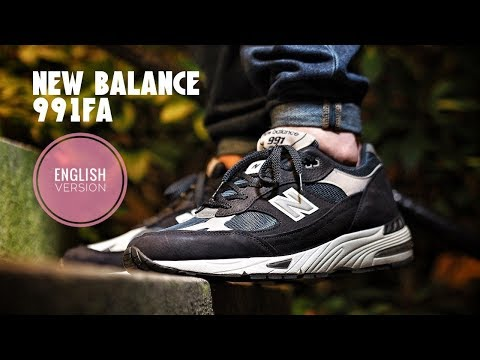 online store 6951a 3c64f More New Balance Heat! 991FA Flimby Anniversary Review / On ...