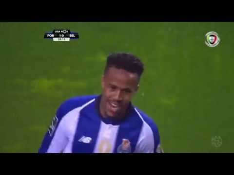 Golo | Goal Éder Militão: FC Porto (2)-0 Belenenses (Liga 18/19 #19)