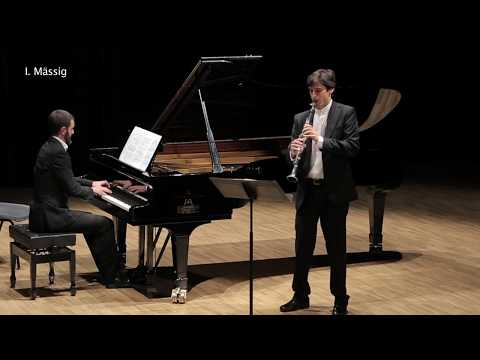 Alban Berg: Vier Stücke Op. 5 for clarinet and piano - Luis Fernandez plays Alban Berg