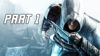 Assassin's Creed Walkthrough Part 1 - Altaïr Ibn-La'Ahad (PC Let's Play Commentary)