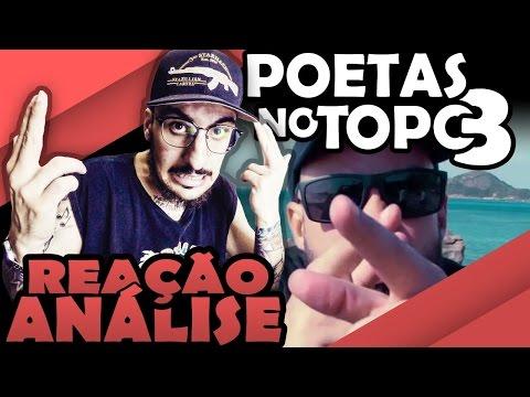 Poetas no Topo 3 - Qualy Rincon Clara Liflow Luccas Carlos Xará Drik Barbosa Don L [REAÇÃO/ ANÁLISE]