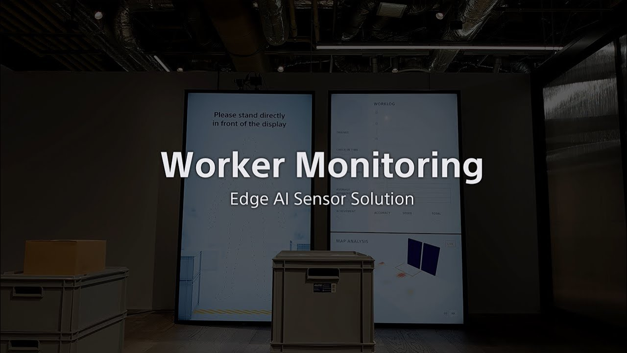 Worker Monitoring by Intelligent Vision Sensor IMX500