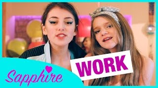 Rihanna - Work ft. Drake | Cover by Sapphire & Hollie Steel