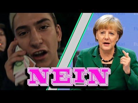 Angela Merkel Sings Yung Hurn - Nein