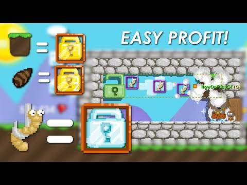 New Dirt PROFIT GAME!! (NEW CASINO!?) - Growtopia