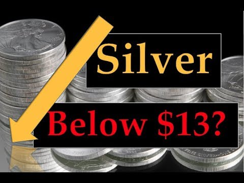 Gold & Silver Price Update - July 25, 2018 + Silver Below $13??