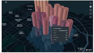 Creating beautiful 3D maps with leafmap and kepler.gl