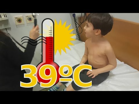 Çok Hasta Oldum,39 Derece Ateş Ile Hastaneye Gittim,hastanede Oyun Oynadım,eğlenceli çocuk Videosu
