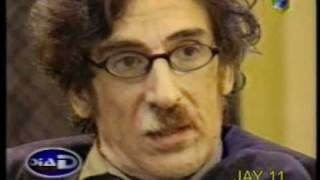 charly garcia y lanata momento tenso despues de estar preso en rosario diad año 2000