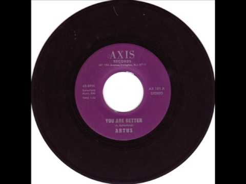 RARE NORTHERN SOUL-ARTUS-YOU ARE BETTER-AXIS