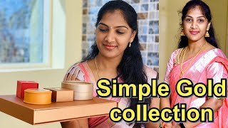 My Gold jewellery Collection || Sukanya Telugu Vlogs