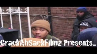 CrackAhSackFilmz: Joey BadA$$ Ft Lil Herbo - LOrd KNows (Behind The Scenes)[G-Herbo Part)