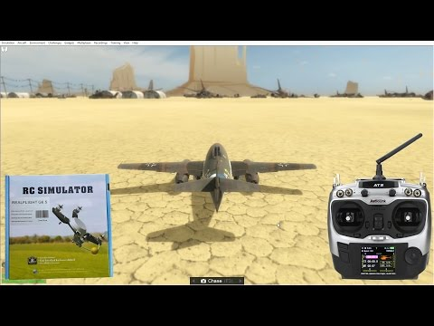 RC Simulator (PhoenixRC, RealFlight) + Radiolink AT9. Installation.
