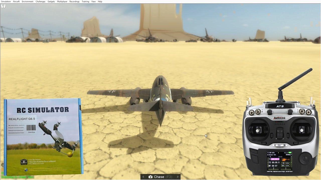 RC Simulator (PhoenixRC, RealFlight) + Radiolink AT9. Installation. - YouTube