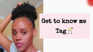 GET TO KNOW MË TAG#😏|Namibian Youtuber🌼