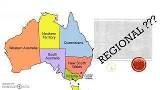 Regional Areas in Australia මොකක්ද මේ  REGIONAL කියන්නෙ ?