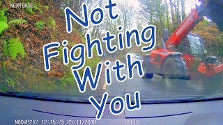 Scottish DashCam Series Episode #37 No Fighting With You