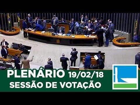 PLENÁRIO - Sessão Deliberativa - 19/02/2018 - 19:00