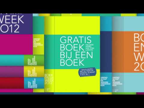 Boekenweek 2012 - narrowcasting instore