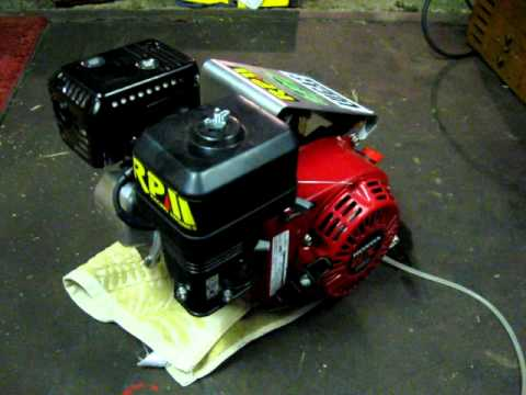 Race Tuned RPM Honda GX160 Go Kart Engine - YouTube