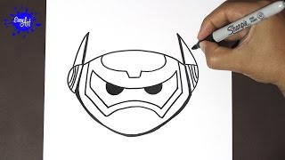 Como dibujar a baymax 4 | how to draw Baymax- Big hiro 6