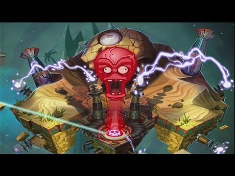 Plants vs Zombies 2 Crazy Dave vs Dr. Zomboss Battle