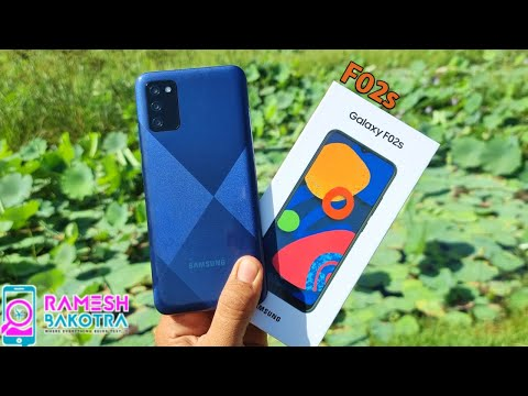 Samsung Galaxy F02s Unboxing and Full Review