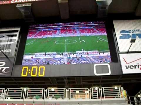 University Of Phoenix Stadium. Nicaragua - Panama. Gold Cup 2009
