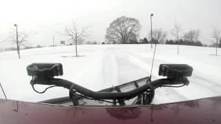 Henry Payne reviews the Ford F150 equipped with BOSS Snow Plow