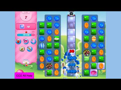 Candy Crush Saga Level 3166 3 hammers Cookie