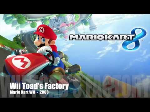 Mario Kart Fan Music -Wii Toad's Factory- By Panman14