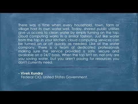 Federal CIO Statement on Cloud