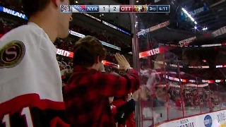 Potential icing on Karlsson goal