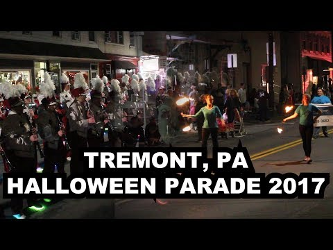 LIVE: Tremont, PA Halloween Parade 2017 - Presented by MHP